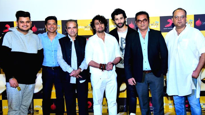Aye Zindagi song launch with Sonu Nigam, Shaan & others Part 1