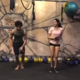 Dhadak duo Janhvi Kapoor and Ishaan Khatter give their gym shenanigans a new twist with Zingaat Challenge