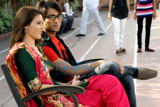 On The Sets Of The Movie Game Paisa Ladki
