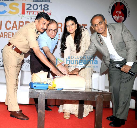 Kajol at the launch of Sudden Cardiac Arrest Awareness Initiative2 (1)