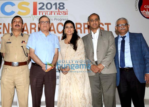 Kajol at the launch of Sudden Cardiac Arrest Awareness Initiative2 (3)