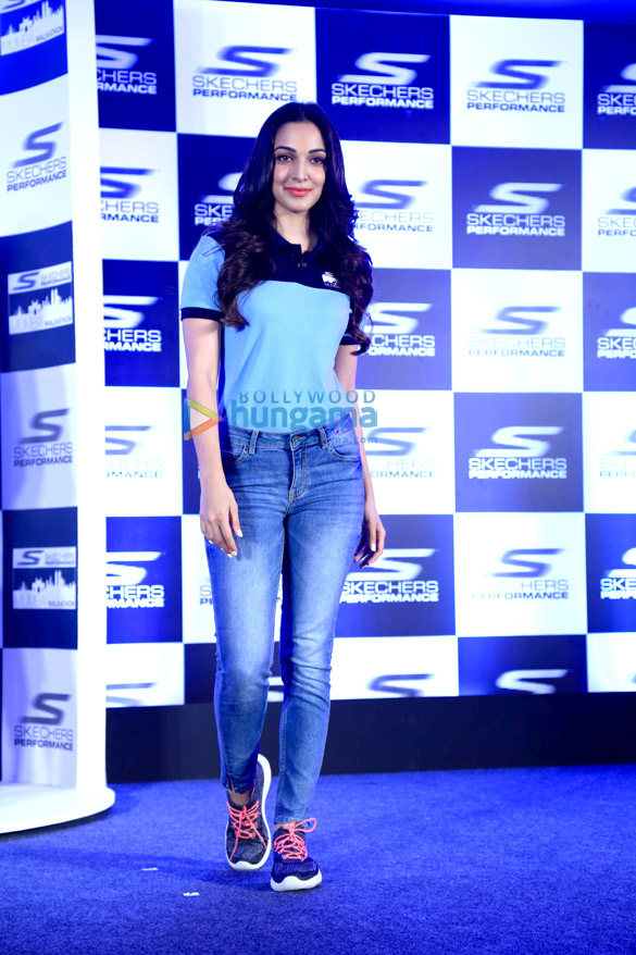 Kiara Advani snapped at the launch of Skechers Performance Mumbai Walkathon