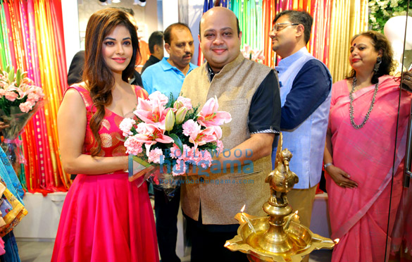 Meera Chopra snapped at the launch of Jashn's Fall-Winter 2018 Collection in Delhi