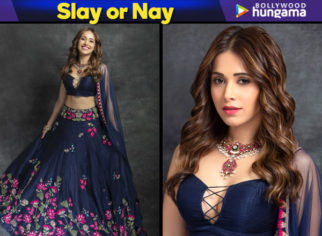 Nushrat Bharucha in Arpita Mehta for a friend's sangeet (Featured)