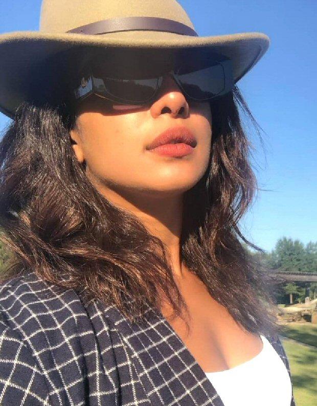Priyanka Chopra and fiancé Nick Jonas enjoy ranch life with Joe Jonas in camouflage outfits