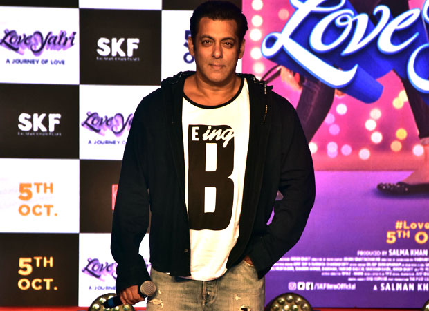 Salman Khan indirectly takes a jibe at Race 3 BO failure, wants LoveYatri to be Rs 170 crore worth FLOP