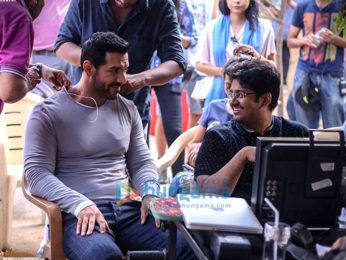 On The Sets Of The Movie Satyameva Jayate