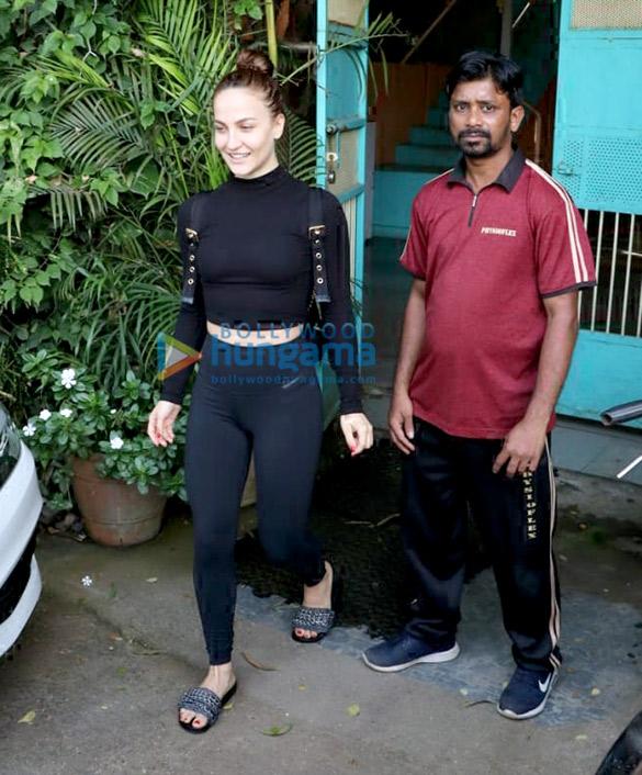 Shamita Shetty, Elli Avram and others snapped at Physioflex at Versova