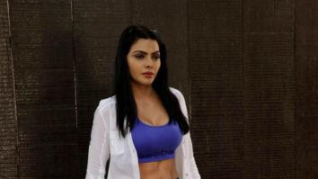 Sherlyn Chopra spotted at Body Sculpture gym in Juhu