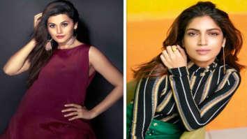 Taapsee Pannu and Bhumi Pednekar to start shooting Anurag Kashyap's Womaniya in January