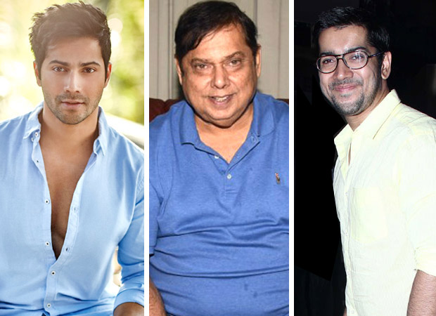 Varun Dhawan, David Dhawan and Rohit Dhawan to launch home production with first film likely to kick off in 2019
