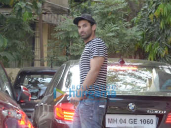 Aditya Roy Kapur spotted at a clinic Khar