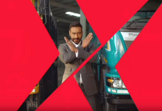 Ajay Devgn shares an action-packed teaser and keeps us guessing who his co-star is