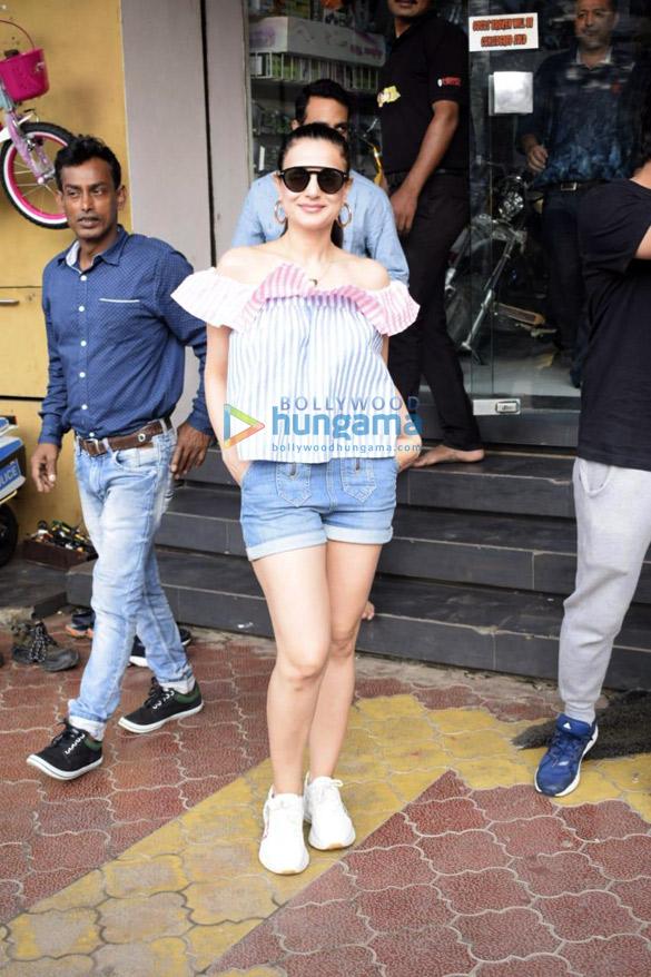 Ameesha Patel snapped in Mumbai