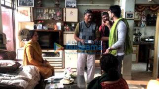 On The Sets Of The Movie Badhaai Ho