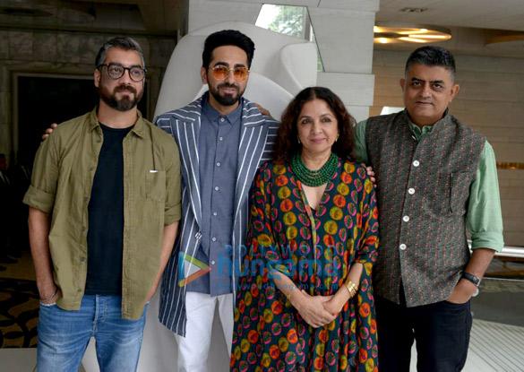 Badhaai Ho team snapped in Delhi