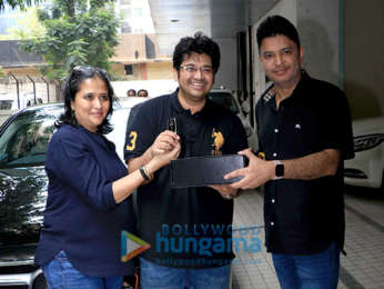 Producers of Satyameva Jayate gift Milap Zaveri a new car for the success of their film