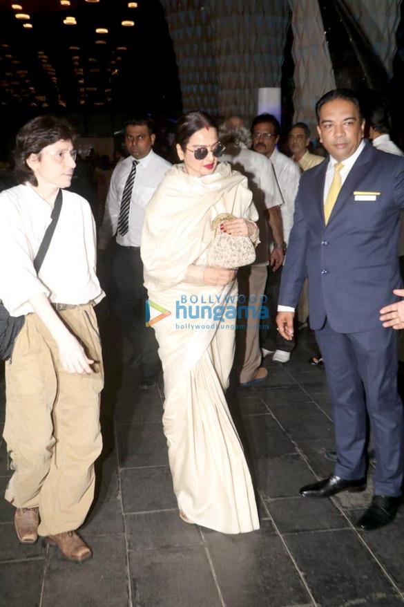 Celebs attend the prayer meet of late Krishna Raj Kapoor at Sahara Star hotel-01 (8)
