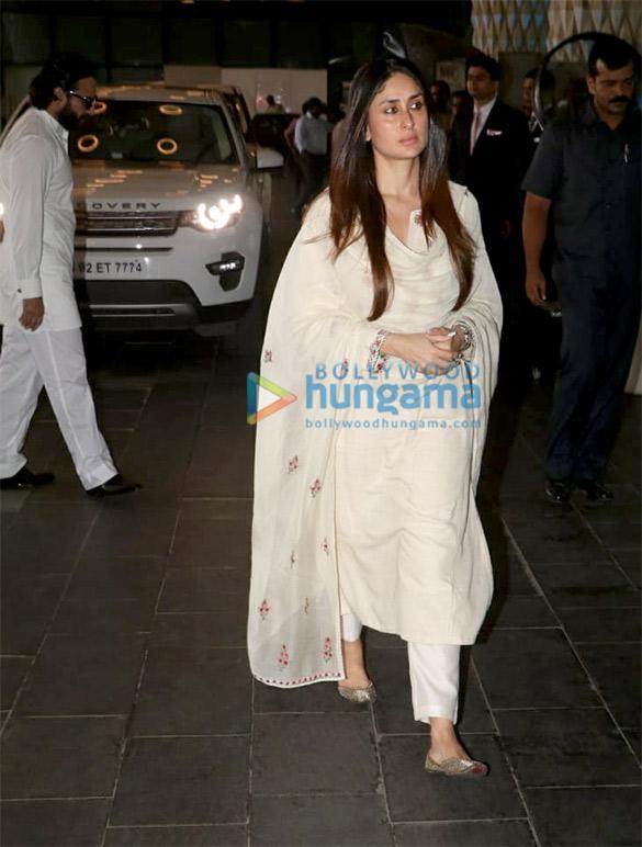 Celebs attend the prayer meet of late Krishna Raj Kapoor at Sahara Star hotel (1)