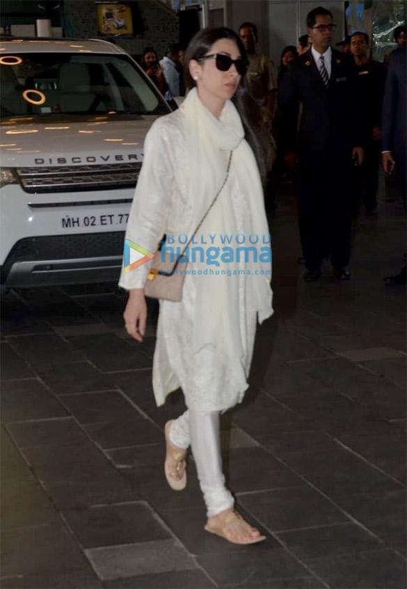 Celebs attend the prayer meet of late Krishna Raj Kapoor at Sahara Star hotel (4)