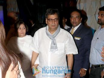 Celebs attend the prayer meet of late Krishna Raj Kapoor at Sahara Star hotel
