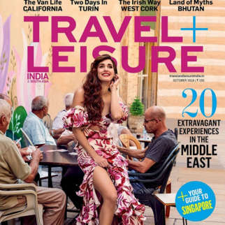 Disha Patani On The Cover Of Travel Leisure