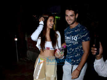Disha Patani spotted after salon session in Bandra