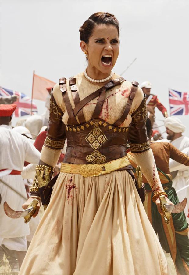 FIRST LOOK Kangana Ranaut looks FIERCE during war intense war sequence in Manikarnika - The Queen Of Jhansi