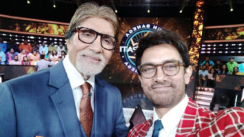 Thugs Of Hindostan stars Aamir Khan and Amitabh Bachchan reunite on Kaun Banega Crorepati; continue to play the game after timer goes off