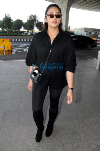 Huma Qureshi, Yuvika Chaudhary and others snapped at the airport