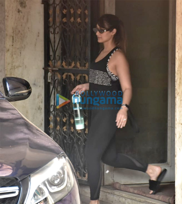 Ileana D'cruz Spotted At The Gym In Bandra