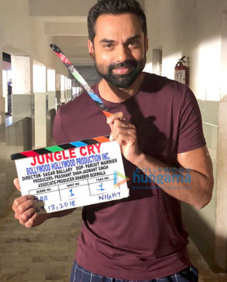 On The Sets Of The Movie Jungle Cry