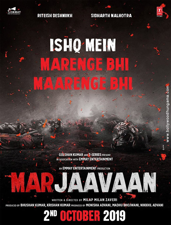 First Look Of Marjaavaan
