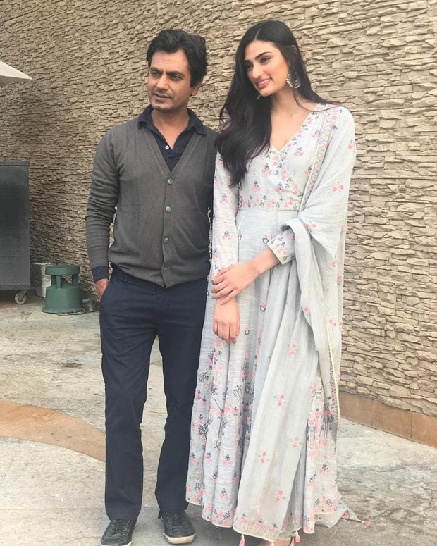 Nawazuddin Siddiqui and Athiya Shetty kickstart the wedding comedy, Motichoor Chaknachoor