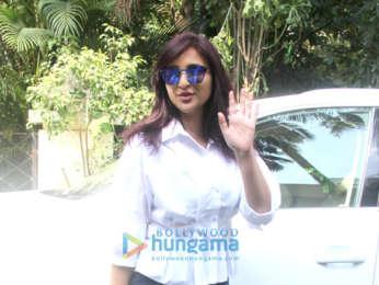 Parineeti Chopra snapped outside a spa in Bandra
