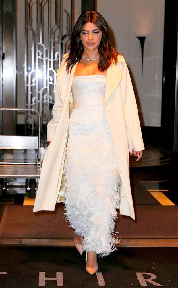 Slay Or Nay Priyanka Chopra In Marchesa For Her Bridal Shower In Nyc Bollywood News Bollywood Hungama