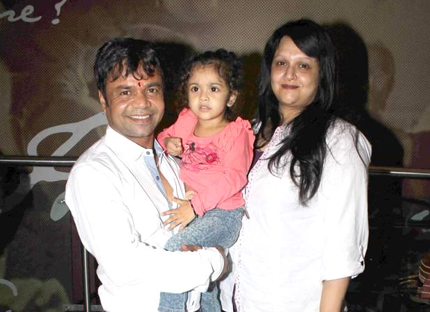 Rajpal Yadav announces the arrival of his second daughter with his wife Radha on Twitter