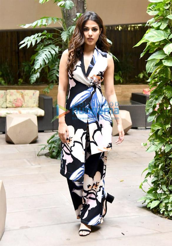 Rhea Chakraborty snapped promoting her film 'Jalebi'