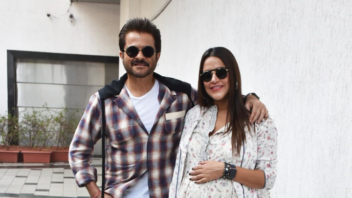 SPOTTED Anil Kapoor with Neha Dhupia at #NoFilterNeha Season 3