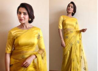 Slay or Nay - Samantha Ruth Prabhu in Raw Mango for Big C launch (Featured)