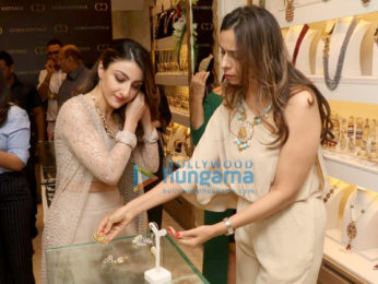 Soha Ali Khan snapped at the Curio Cottage event