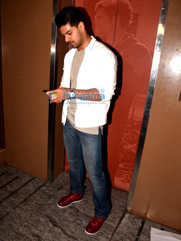 Sooraj Pancholi snapped in Mumbai