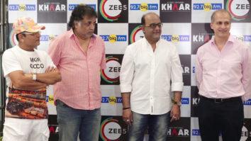 Suhail Tutari promotes Khaar a docudrama with Annu Kapoor