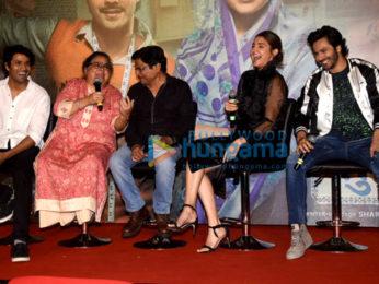 Varun Dhawan and Anushka Sharma grace the success press conference of 'Sui Dhaaga - Made in India'