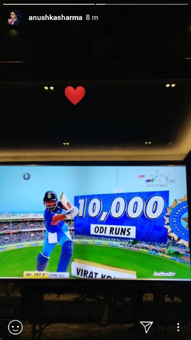 Anushka Sharma shares LOVE-SOAKED posts for her man Virat Kohli (see pics)