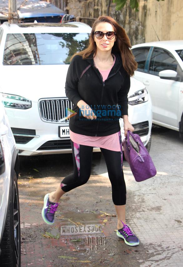 Aditi Rao Hydari and Iulia Vantur snapped at the gym