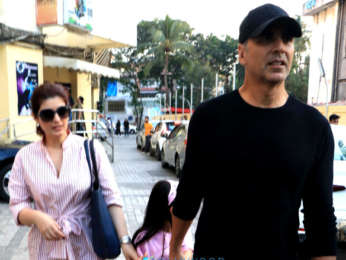 Akshay Kumar and family spotted at PVR, Juhu