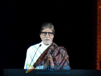 Amitabh Bachchan graces Indian Express programme featuring 2611 stories of strength