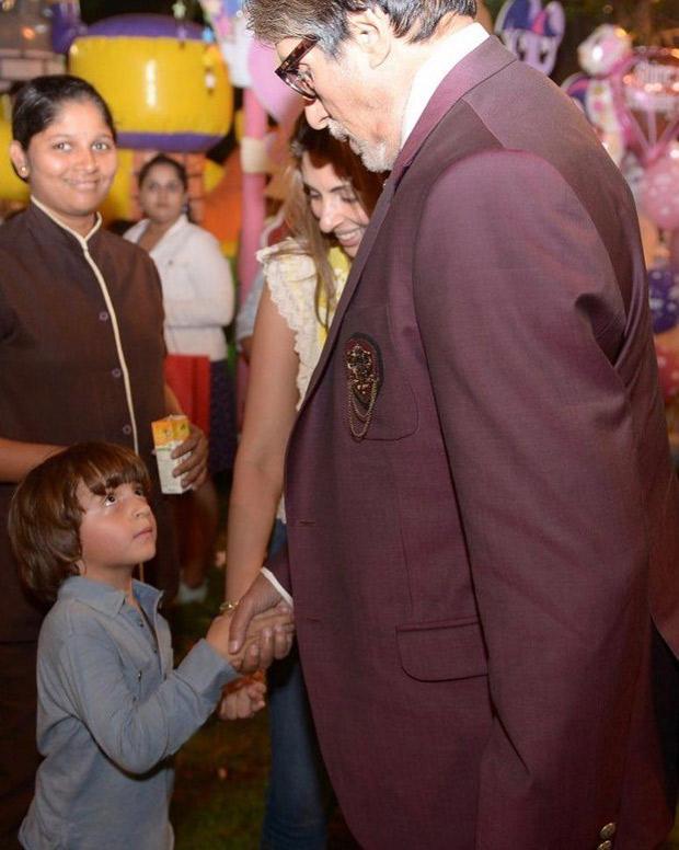 Amitabh Bachchan reveals Shah Rukh Khan's son AbRam Khan thinks he is his grandfather