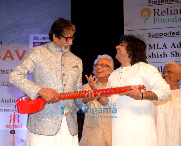 Amitabh Bachchan snapped at the launch of Kartick Kumar Foundation (2)